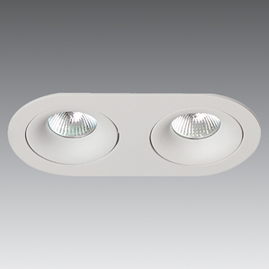 Down Light Oval Adjustable