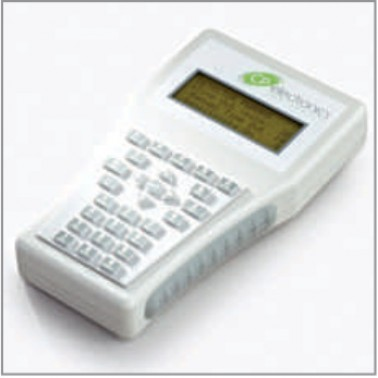 Professional, programming / commissioning LCD handset